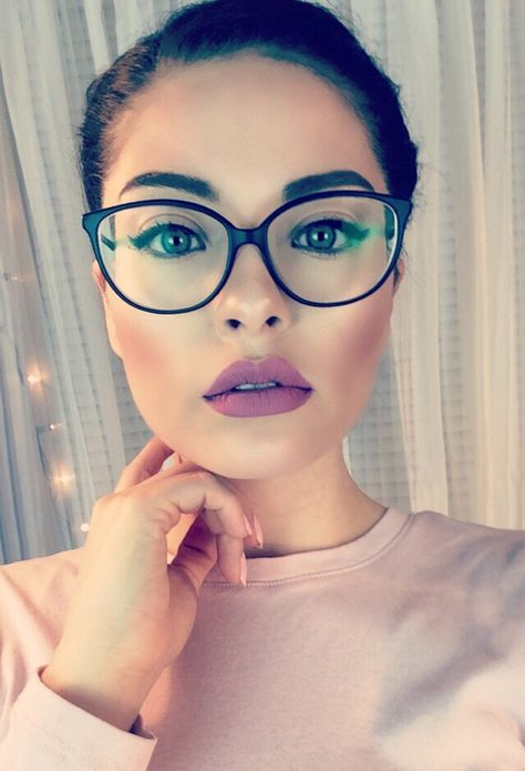 a489f8a2c7 List of Pinterest geed chic glasses makeup images   geed chic ...