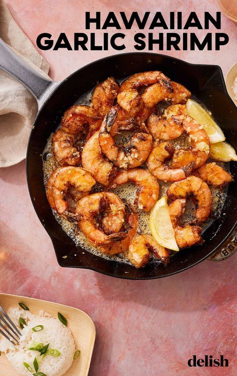 This garlic lovers' spin on scampi was made famous by Giovanni's Shrimp Truck on Oahu.