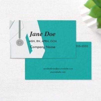 Nurse Medical Professional Health Care Business Cards In 2020 Public Health Jobs Job Career Health