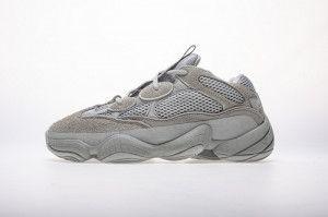 Adidas Yeezy Boost 500 Salt Gray Running Shoes Wmns EE7287