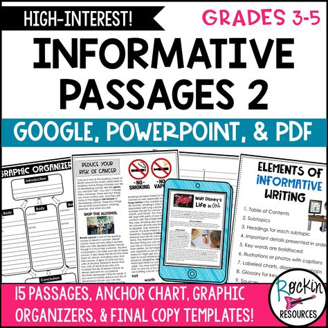 Informative Writing Prompt Passages Set 2