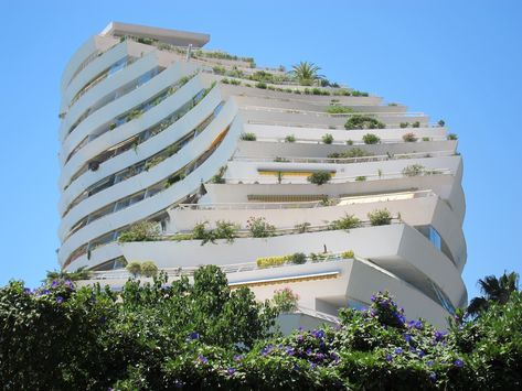 The Amiral tower at Marina Baie des Anges in the south of France, 2014. Photograph: Rick Poynor. From the essay: Tracking the Locations of J.G. Ballard's Super-Cannes http://designobserver.com/article.php?id=38563