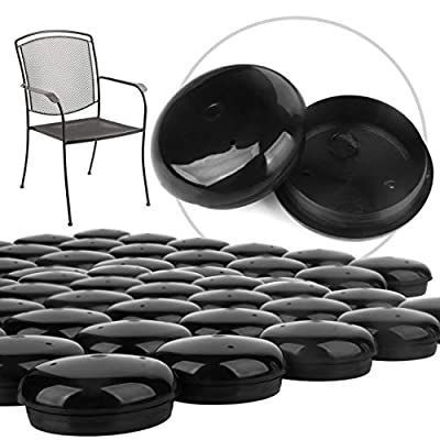 32 Pack Of 1 5 Patio Furniture Glides, Wrought Iron Outdoor Patio Furniture Glides