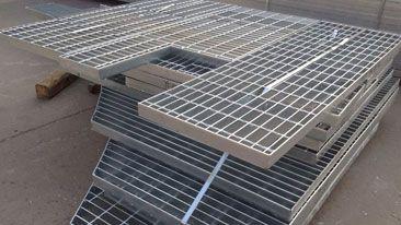 Welded Stainless Steel Bar Grating With 11 16inch Spacing Pigeon Loft Design Metal Deck Steel Deck