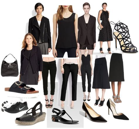 Summer Chic Noir- Black Never Boring or Basic When You Style It Like a City Girl   #black #chic #essentialwardrobe #mystyle #color