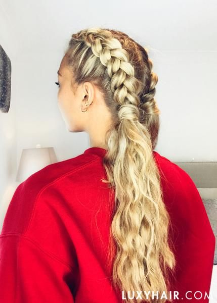 How To Deal With Thick Hair 3 Easy Hairstyles Thick Hair Styles Easy Hairstyles Hair Styles
