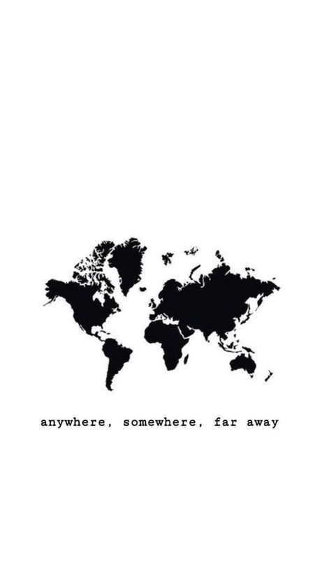 Where do I want to go? Anywhere. Somewhere. Far aw... - #aw #wallpers