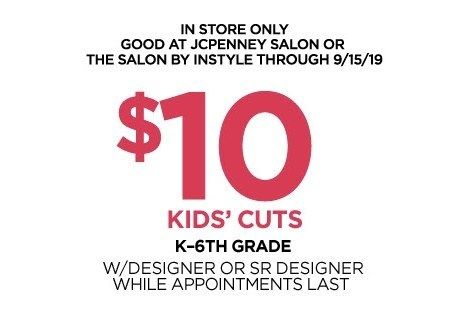 Jcpenney Haircut Coupons