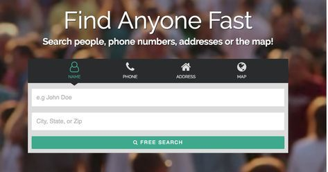 Run A Fast People Search To Find Anyone 100 Free Get Current Address Phone Email And More The Top People People Search Free Public Records Search People