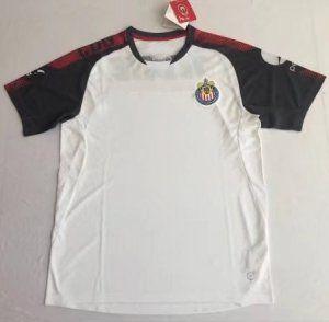 3c3370da883 2017 Training Jersey Chivas Replica White Shirt  BFC174