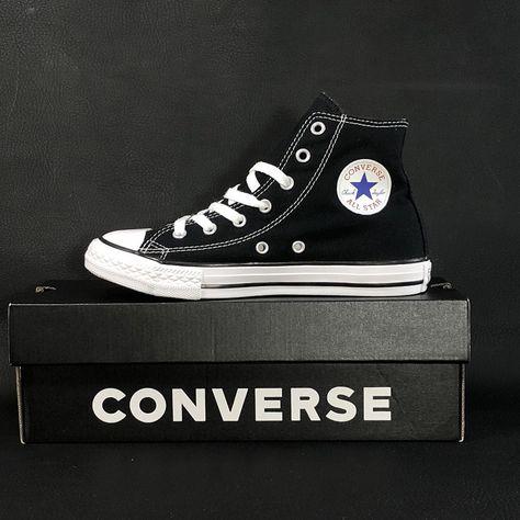 cbb41a2919f5f9 Converse Chuck Taylor Hi Top Youth Size 3 Sneaker Shoe Basketball   ChuckTaylor