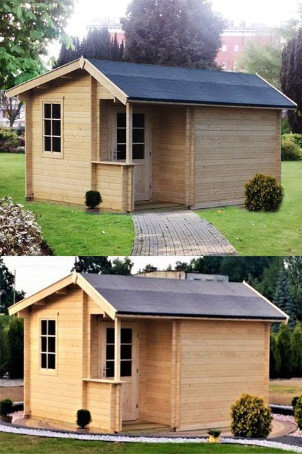 Sauna Finska Do Ogrodu Domek Zewnetrzny 320x320cm 8055685315 Oficjalne Archiwum Allegro Outdoor Structures Structures Outdoor