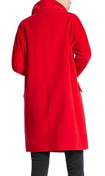 Mantel Mit Alpakawolle Marc Cain Com De Elegant Coats Coat Clothes