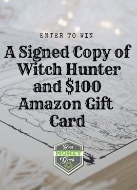 Win a $100 Amazon Gift Card and a Signed Copy of Witch Hunter by