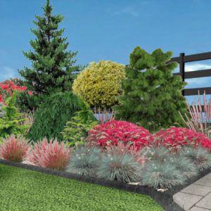 Homegarden Projektowanie Ogrodow 3d Architektura Bielsko Biala In 2020 Plants Garden