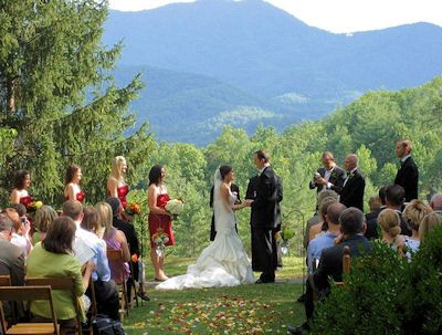 Wedding Bells Ringing In The Great Smoky Mountains Http Www Amazingviewscabinals Com Blog Mountain