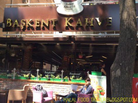 Baskent Kahve Evi Kizilay Ankara Halal Recipes Restaurant Halal