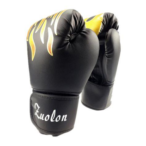 f7cb5fd2b PU Muay Thai Boxing Gloves MMA Sanda Martial Kungfu Women Men Fighting  Punching Sandbag Training Mitts luvas boxeo Guantes