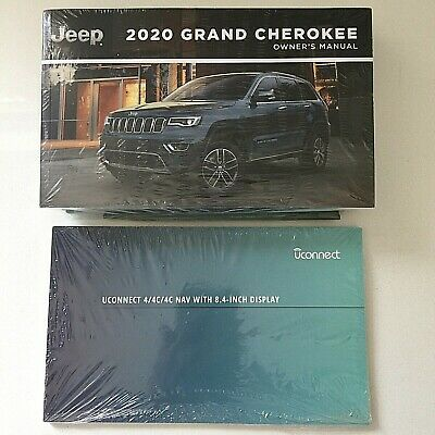 Details About New Sealed 2020 Chrysler Jeep Grand Cherokee Owners Manual Navigation Case In 2020 Chrysler Jeep Jeep Grand Jeep Grand Cherokee