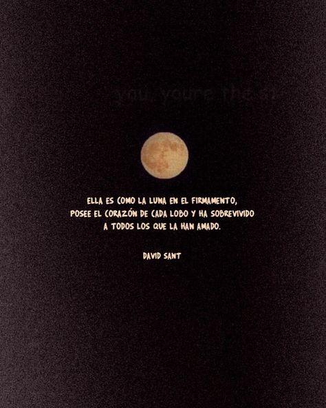 🌑 Mi loca, mantén tu cabeza en la luna pero tu corazón cerca mí. . . Os leo🔥 . . . #davidsant #letras #accionpoetica #citas #letrasenversos…