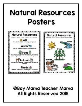 Natural Resources Posters Natural Resources Nature Poster