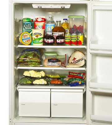 No more junk food! Here are 35 of the best food to stock in your fridge and pantry.