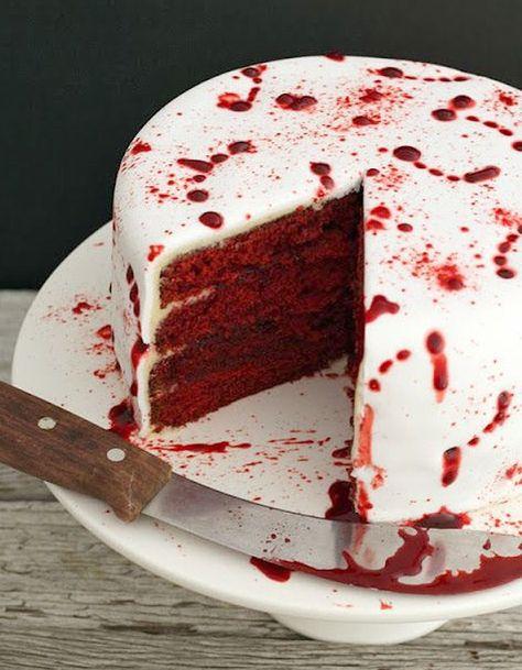 Halloween Cake - Halloween : 24 recettes effrayantes et faciles repérées sur…