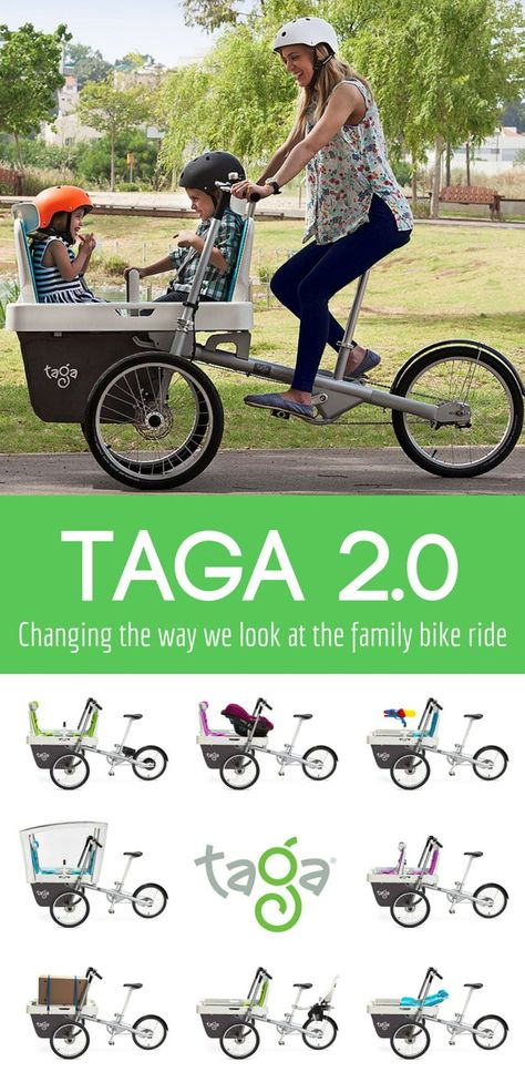 The Family Bike Ride will Never Be the Same! Taga 2.0