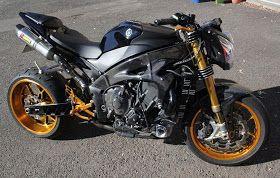 Yamaha R1 TURBO, Turbocharged Cafe Racer ,Yamaha R1, yamaha