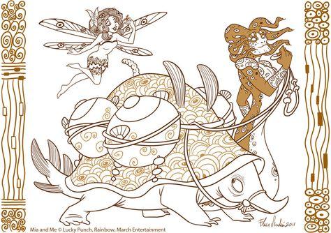 Mia I Ja De Darkhorse Simbolos Antigos Desenhos Para Colorir