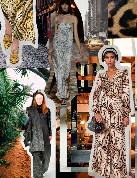 Earth tones and rich shades of green were prominent throughout this season. Taking inspiration from wildlife and city life create a new ...