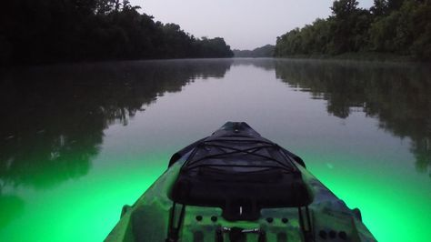 Green Kayak Light Kayak Lights Kayaking Gear Kayaking