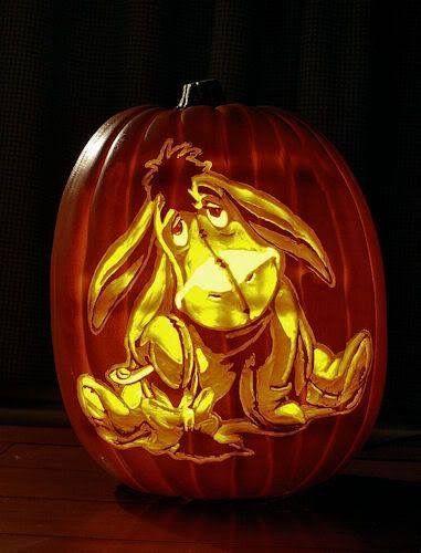 Halloween Disney Eeyore Disney Pumpkin Disney Pumpkin Carving Pumpkin Carving