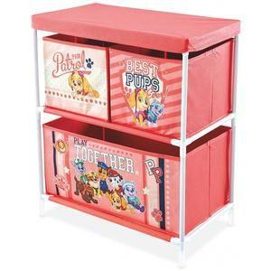 Paw Patrol Storage Shelf With 3 Drawers Uk Noveltycharacter