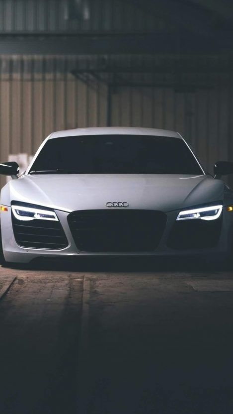 White Iphone Audi R8 White Iphone Wallpaper Iphone Wallpapers