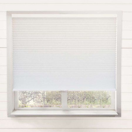 Chicology Cordless Cellular Shade Privacy Single Cell Window Blinds Yellow Cordless Cellular Shades Cellular Shades Living Room Blinds