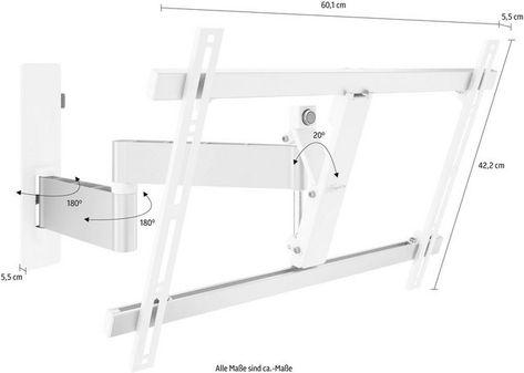 Vogel S Wall 3345 Tv Wandhalterung Schwenkbar Fur 102 165 Cm 40 65 Zoll Fernseher Vesa 600x400 Online Kaufen Wandhalterung Tv Hifi Mobel Tv Halterung