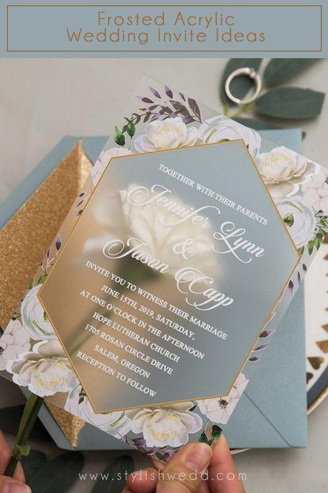#weddingideas#weddinginvitations#stylishwedd #stylishweddinvitations #clearweddinginvitations#springwedding#summerwedding#2021wedding