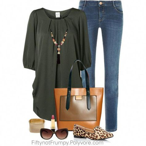 """""""Casual Comfort"""" by fiftynotfrumpy on Polyvore #womensfashionover60beauty"""