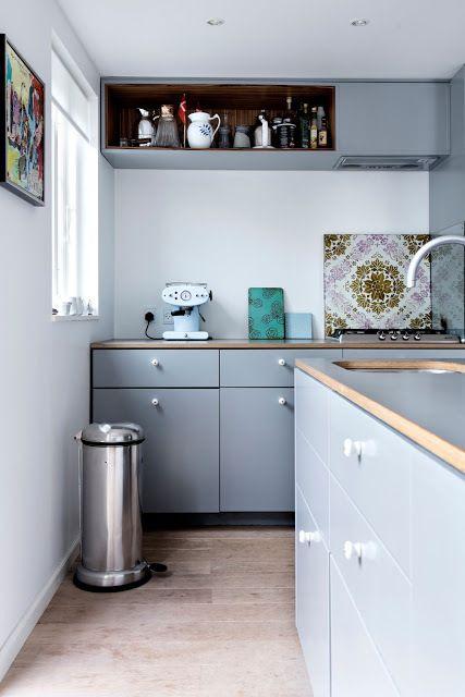 Black Danish Summer House Kitchen Cuisine Salle à Manger