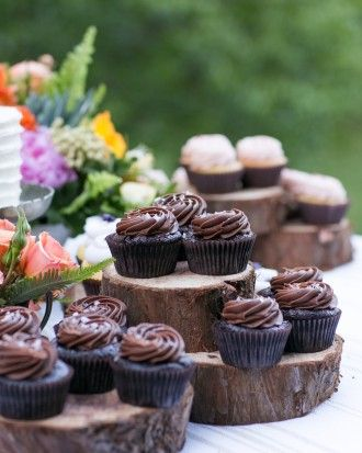 Delicious Desserts - Nicki And Mike's Rustic Wedding In The Northern California Woods
