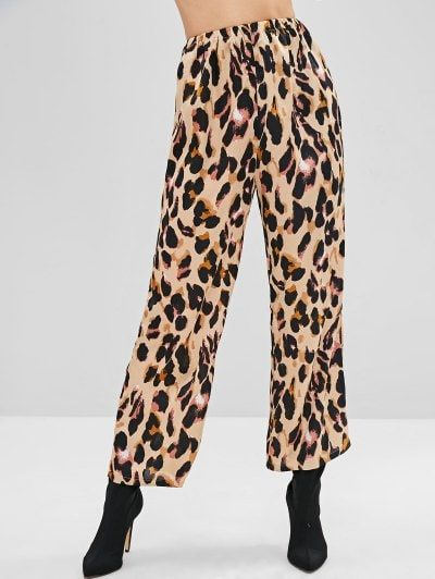 24+ High waisted leopard pants ideas in 2021