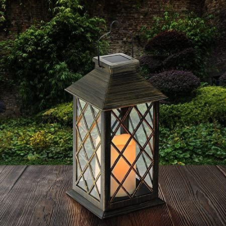 Outdoor Lanterns At Amazon In 2020 Solar Lantern Lights Outdoor Lanterns Outdoor Decorative Lanterns