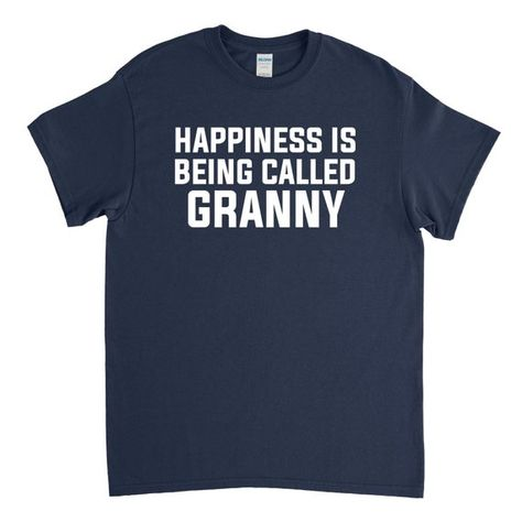 49fb71d3 Happiness Is Being Called Granny, Granny Shirt, Granny Gift, New Granny,  Mothers