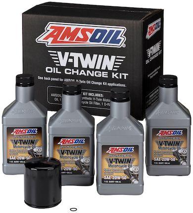 V Twin Oil Change Kit For 1996 2016 Harley Davidson Motorcycle In 2020 Oil Change Amsoil Changing Kit