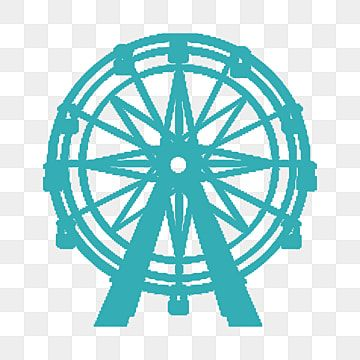 Ferris Wheel Silhouette Background Vector Material Silhouette Ferris Wheel City Png Transparent Clipart Image And Psd File For Free Download Clip Art Balloon Clipart Silhouette