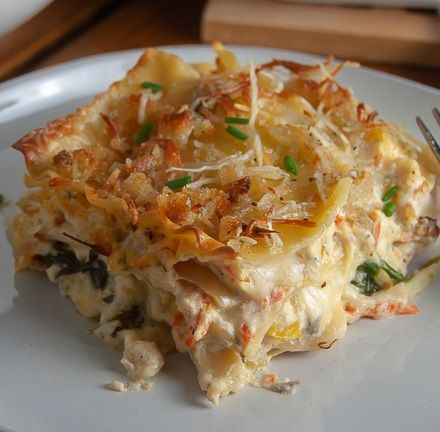 white vegetable lasagna scrambled and spiced vegetable lasagna recipes vegetable lasagna white lasagna recipe pinterest