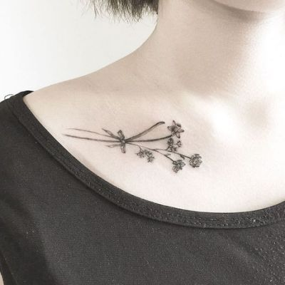 Paperwhite Narcissus Tattoo 1000 Narcissus Tattoo Collar Bone Tattoo Small Tattoos