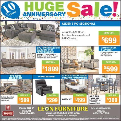Leon Furniture Is Celebrating 10 Years