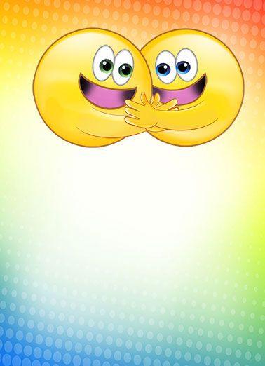 Hugging Emojis Funny Hug Card Hugging Emojis Love To Hug 3 Cute Emojis Funny Emoticons Friends Icons National Hug Day Kiss Funny Emoticons Emoji Fun Texts